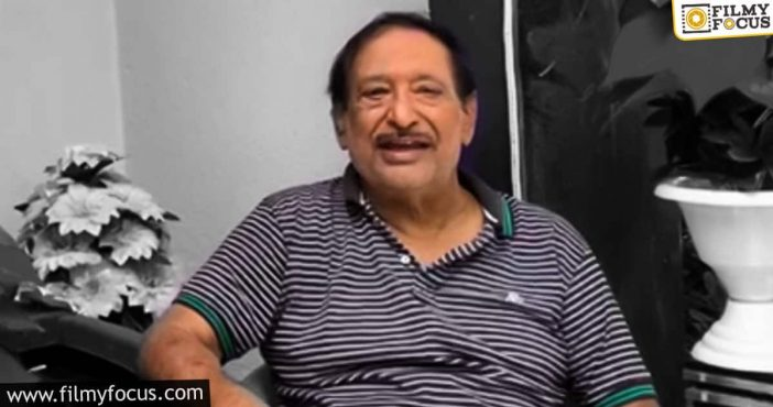 Chandra Mohan Clarifies About His Health Condition