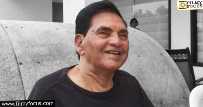 Hero Ram's Grandfather Passes Away