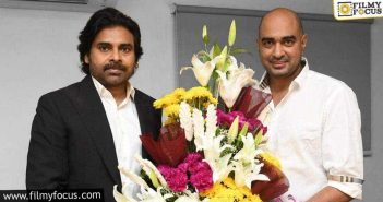 Huge Disappointment For Pawan Kalyan's Director