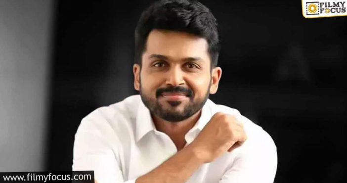 Karthi's Birthday Special A Sequel To This Cult Drama On The Cards