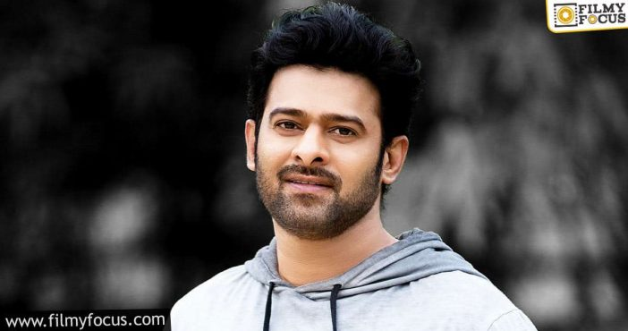 Love For Prabhas Is A Never Ending Process