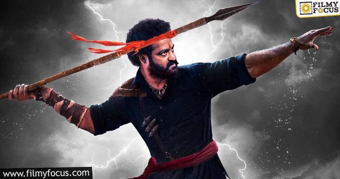 Ntr's Birthday Poster Meet The Intense And Fiery Komaram Bheem From Rrr