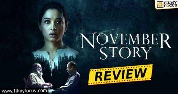 November Story Web Series Review Eng