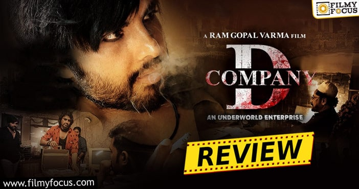 RGV's D Company Movie Review and Rating!