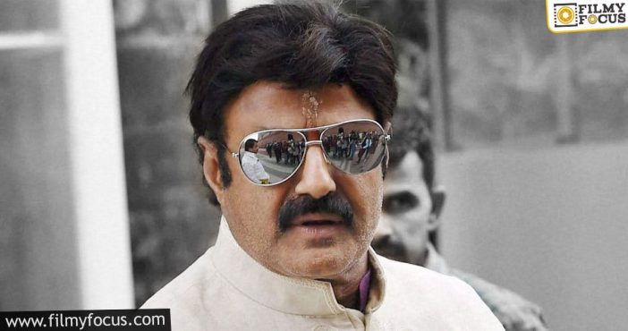 balakrishna continues to be haunted by the same problem