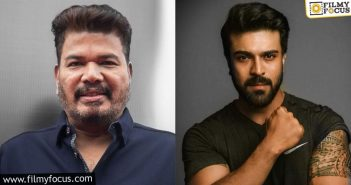 clarity on shankar ram charan's project is yet to come out