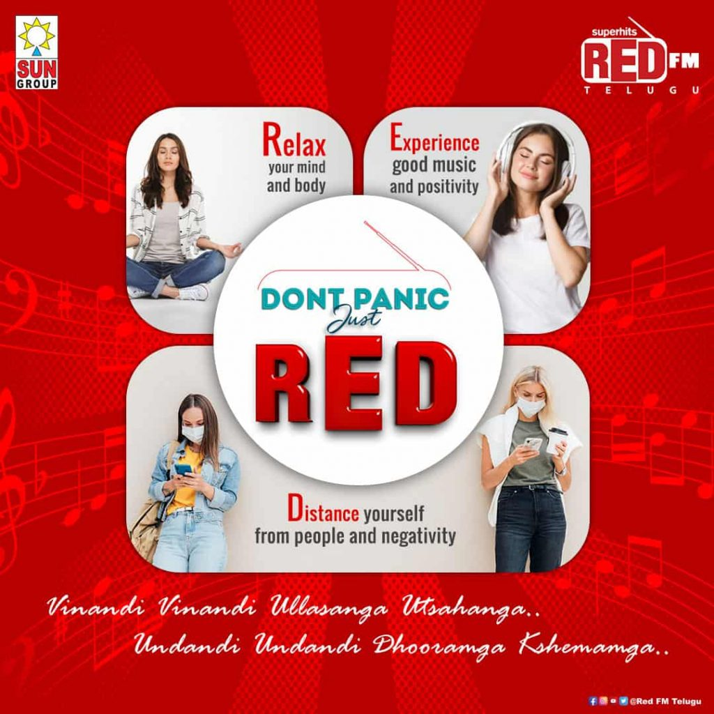 dont panic just red