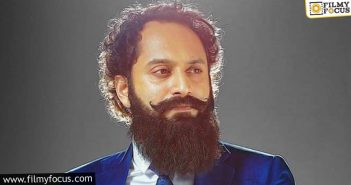 fahadh faasil's limited screentime in pushpa