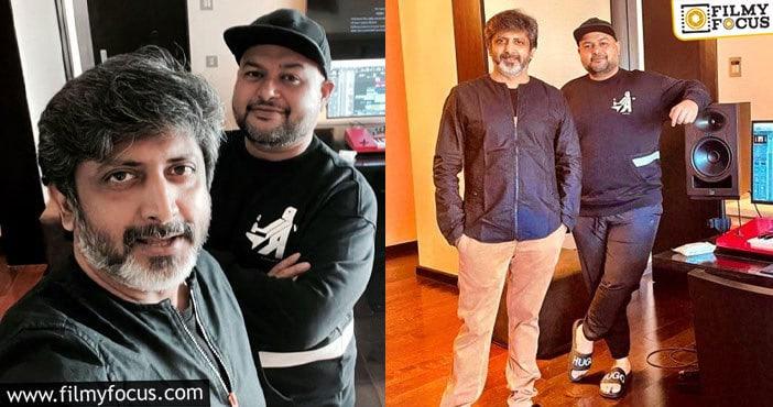 megastar chiranjeevi, mohan raja, konidela production company, super good films chiranjeevi153 music sittings begin filmy focus