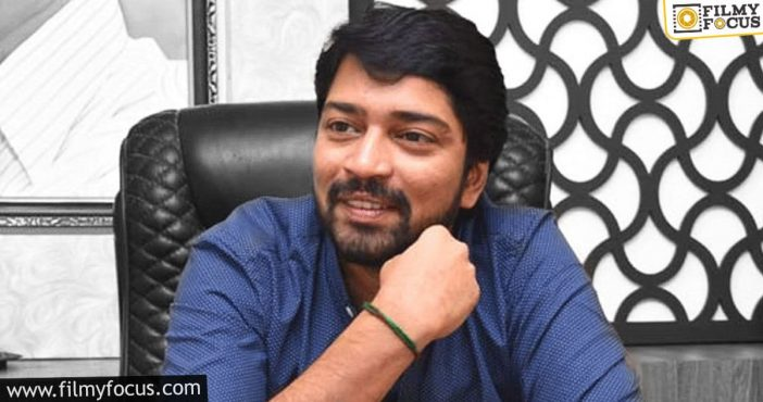 naresh continues to break stereotypes with his new projects