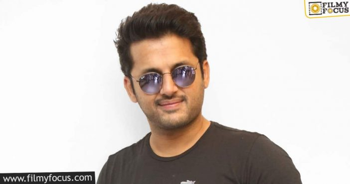 nithiin to introduce a new director