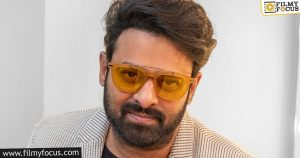 prabhas in a one of a kind role for his second bollywood flick