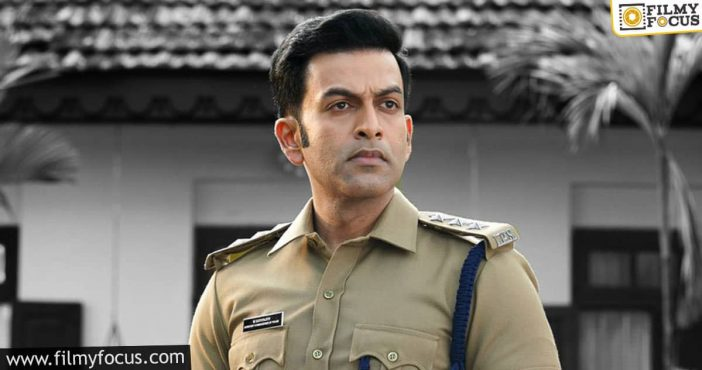 prithviraj's 'cold case' to be out on amazon prime soon