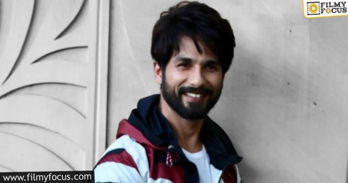 shahid kapoor's next is an action thriller