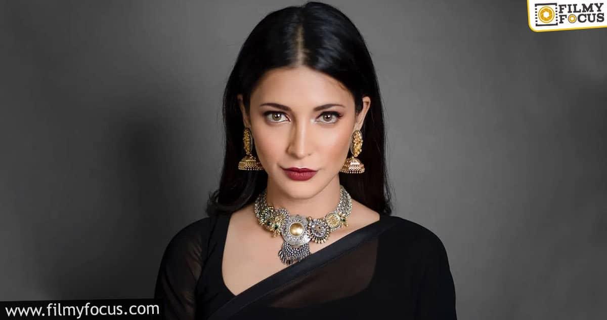 shruti haasan is hyderabad times most desirable woman