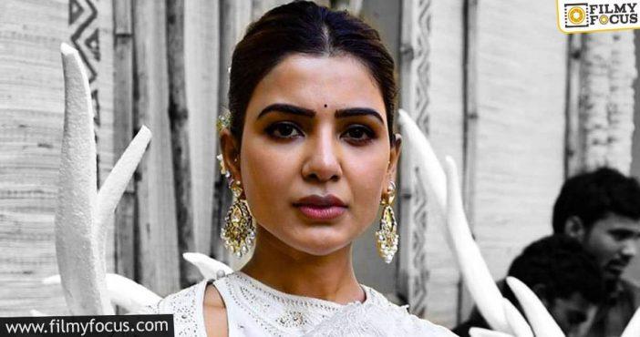 talk samantha to resume shaakuntalam's shoot soon