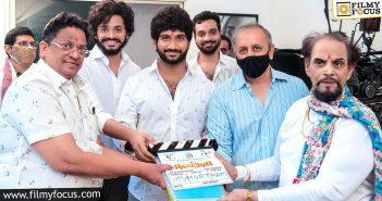 teja sajja, prasanth varma hanuman movie launched