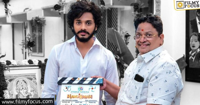teja sajja taking a page out of marvel's book for hanuman!