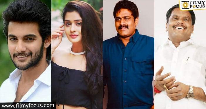 'vision cinemaas' production film in hit combination of aadi saikumar and m. veerabhadram is titled as 'kirathaka'... payal rajput as heroine