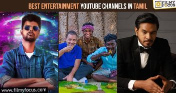best entertainment youtube channels in tamil