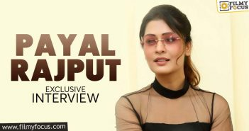 exclusive interview payal rajput i love the glamorous image that i carry
