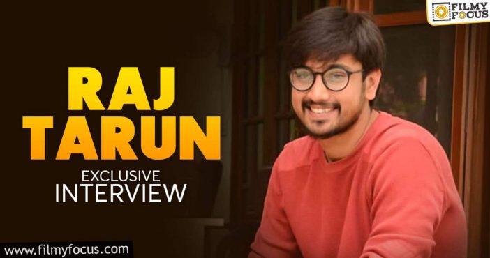 exclusive interview raj tarun varsha bollamma used to inspire me on the sets