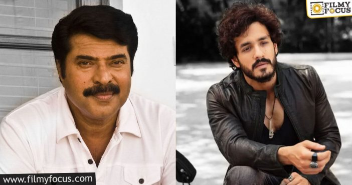mammootty's character in akhil's film revealed!