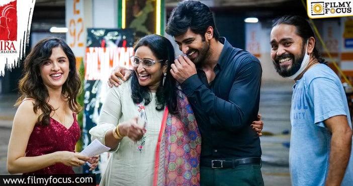 naga shaurya, anish krishna, ira creations film's shoot resumes