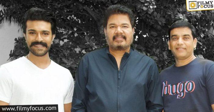ram charan and shankar's film finally in the green!