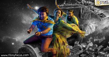 satyadev's skylab poster released a fun packed adventure