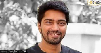 talented actor lands in allari naresh's sabhaku namaskaram