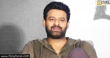 talk leading production houses on board for prabhas' next