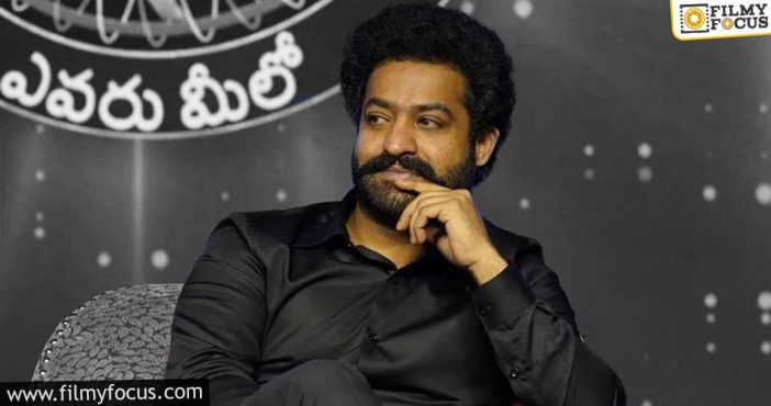 this star is the first guest for ntr's emk