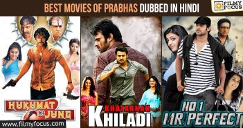Best Movies of Prabhas dubbed in Hindi