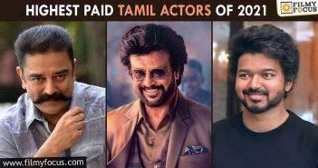 Highest Paid Tamil Actors Of 2021