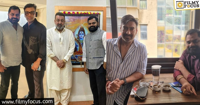 Bollywood stars listen to Telugu Astro MD Balu Munnangi's advices