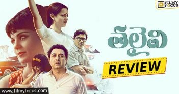 Thalaivii Movie Review and Rating-Eng