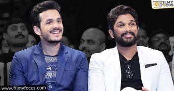Akhil and Allu Arjun to come together