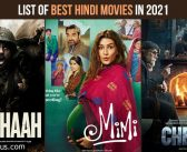 Best Hindi Movies in 2021