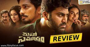 Maha Samudram Movie Review and Rating-eng